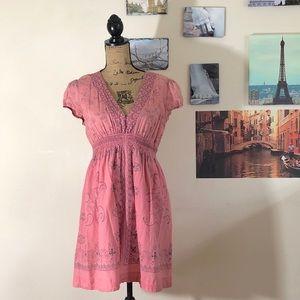 Twenty One cotton mini dress (or tunic), Sz. M